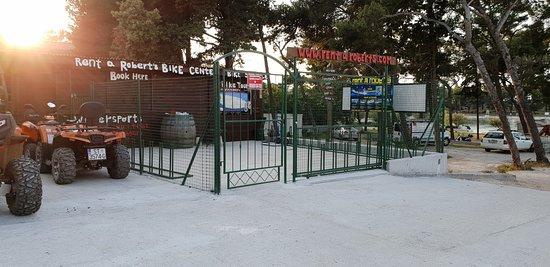 Supetar, Croacia: New bike center