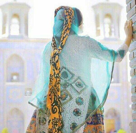 Fars Province, Iran: Traditional clothing of Fars tribal women