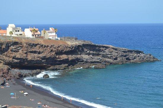 Playa de El Abrigo en Fasnia
