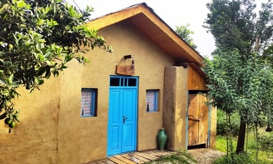 Chaboksar, Iran: eco Kolbe- wooden and muddy cottage