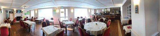 Sainte-Anne-d'Auray, France: Salle de restaurant
