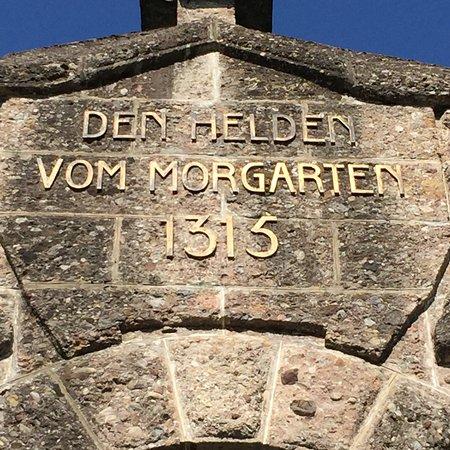 Morgarten Denkmal