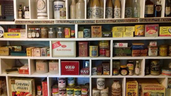 Well stocked shelves - with some things we remember! - Picture of