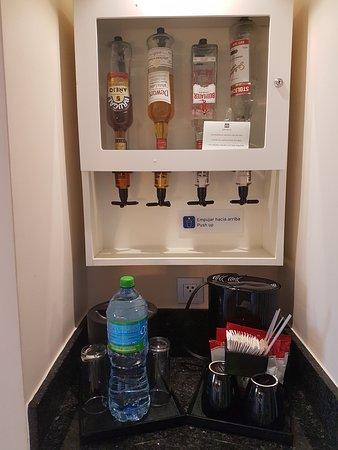 Drankdispenser in de kamer