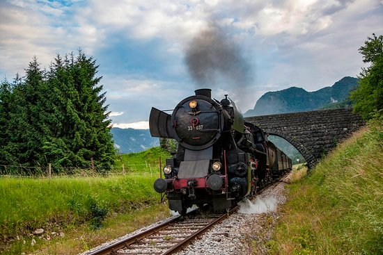 Steam Train on Bohinj Railway
