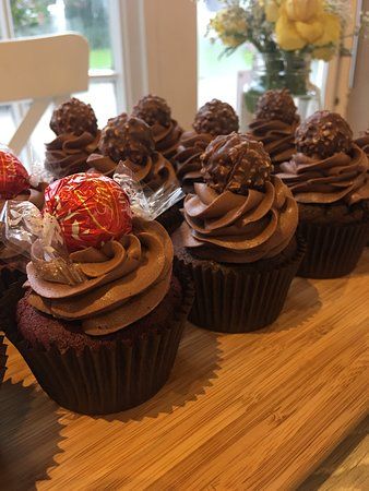 Brailsford, UK: Chocolate cupcakes