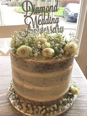 Brailsford, UK: Customer order - Diamond Wedding Anniversary