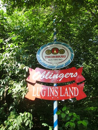 Biergarten Picture Of Lug Ins Land Augsburg Tripadvisor