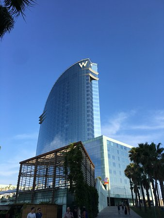 Summer vacation at the W Barcelona