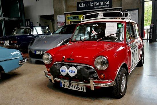 Historischer Rallye Monte Carlo Mini Cooper Picture Of Classic
