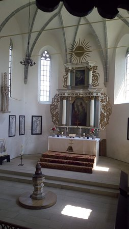 Saschiz, Rumunia: The main altar