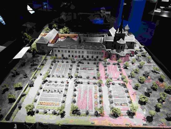 Landevennec, Pháp: Maquette vue 2