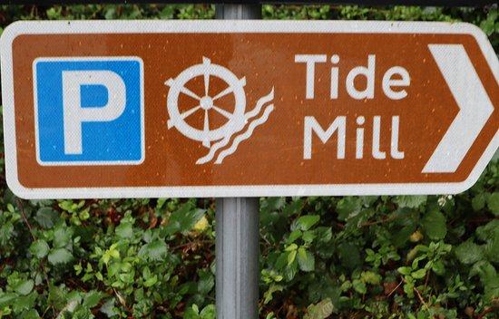 Totton, UK: Follow the sign.