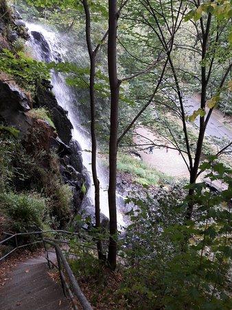 Brotterode-Trusetal, เยอรมนี: Treppe entlang des Wasserfalls