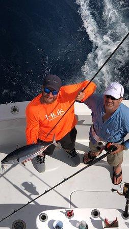Key Biscayne, FL: Skip jack tuna