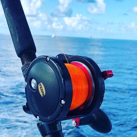 Cutting Edge Fishing Charters: Penn fathom our choice for sailfish