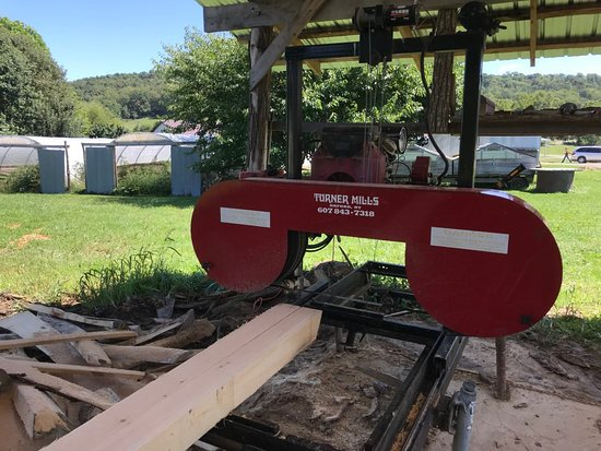 Sawmill - Picture of Polyface Farms, Swoope - TripAdvisor