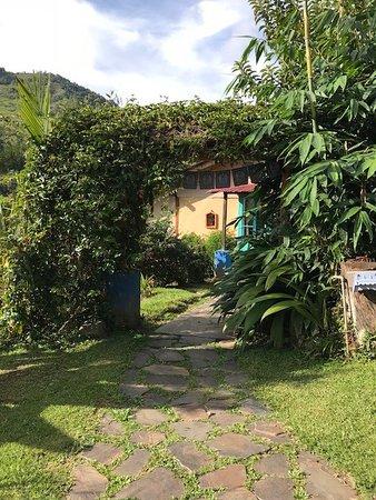 San Gerardo, Costa Rica: View as you walk to the Casa Cafe