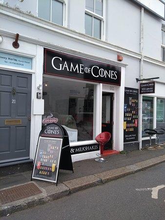 Excellent Ice Cream Review Of Game Of Cones Fowey England Tripadvisor