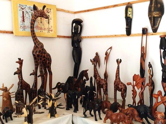 Thies, Senegal: sculpture
