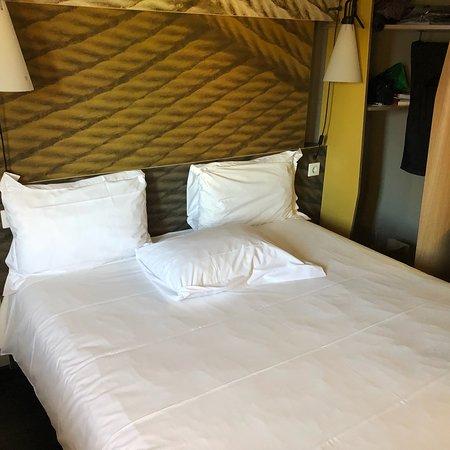 Hotel bom, já as toalhas...