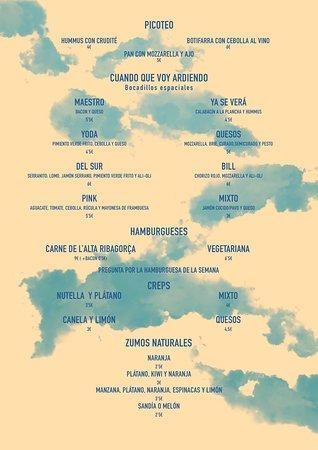 Boi, Spain: Todos los bocadillos se pueden hacer en crep! Tenemos además platos de temporada, pregúntanos!