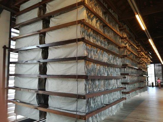Pacos de Brandao, Portugal : sala de secagem