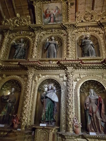 Yavi, Argentina: Altar Capilla de San Francisco en Javi, Jujuy