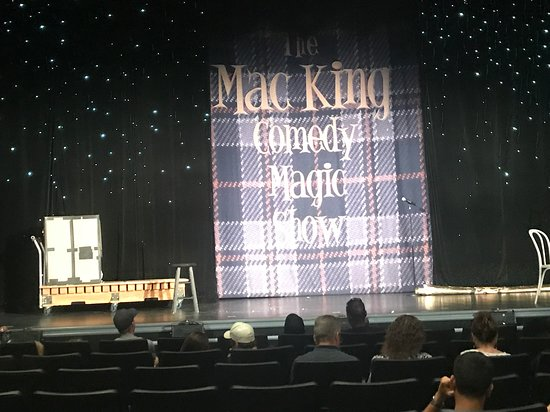 Mac King Comedy Magic Show