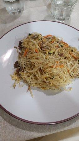 Liscate, Italy: Spaghetti di rosa con manzo e curry