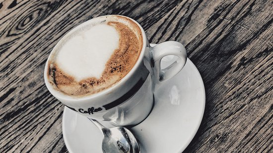 Adrianos Bar & Cafe: Cup of coffee