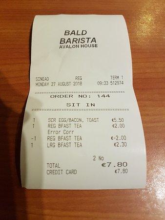 The Bald Barista张图片