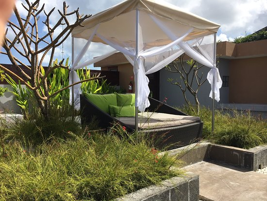 Amadea Resort & Villas: The outdoor bed in the rooftop suite