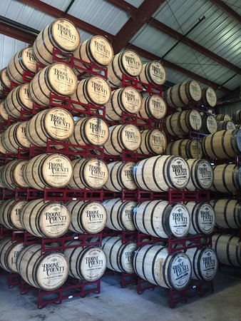 Independence, KY: I get thirsty just looking at these barrels