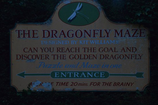 Dragonfly Maze: Great place for all ages