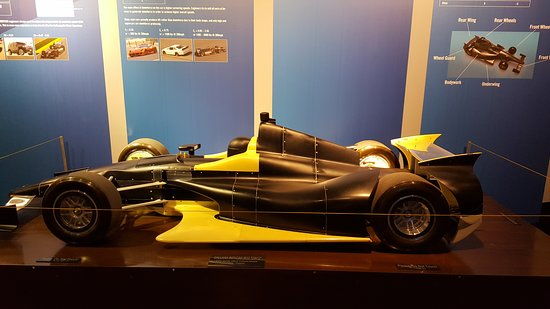 Speedway, IN: Wind tunnel scale racer