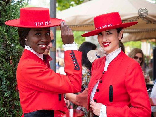 Feria del Caballo: Caseta de Gonzalez Byass una de las mejores