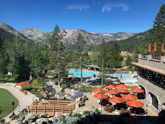 Resort at Squaw Creek: View from the front entrance