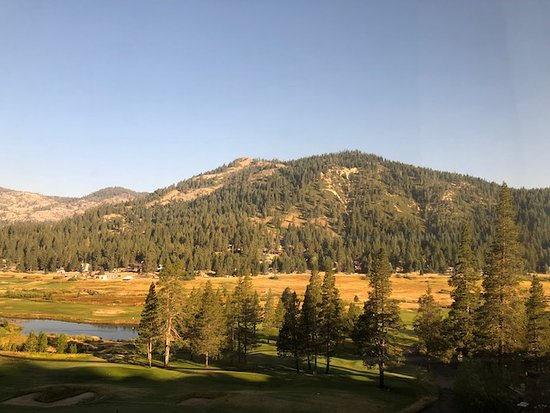 Resort at Squaw Creek: View from our stellar suite