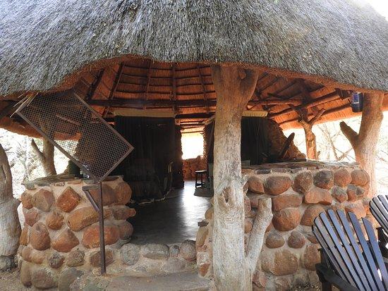 "Mkhaya Game Reserve, Σουαζιλάνδη: mein ""Zimmer"""