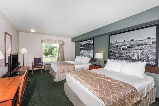 Swan River, كندا: 2 Queen Bed Room