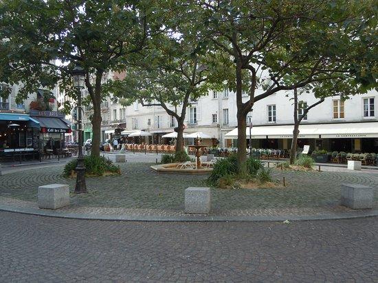 Fontaine de la Contrescarpe
