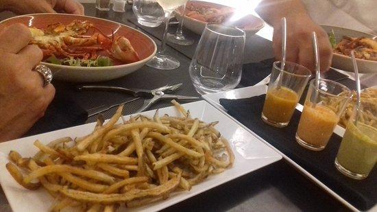 Le Homard Frites Photo
