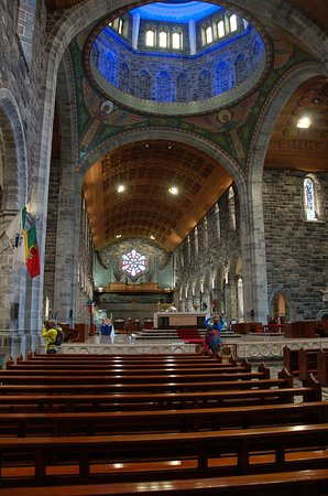 Galway Cathedral: The view from the entrance