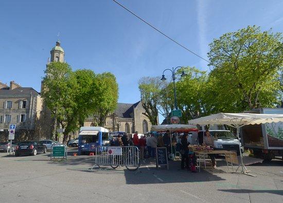 il mercato all'aperto