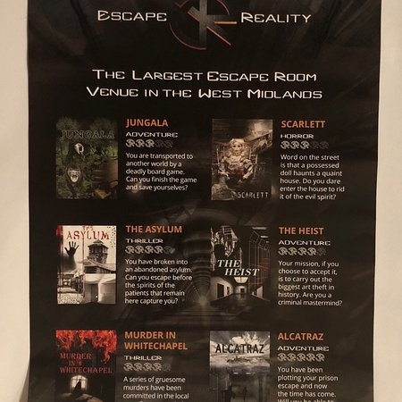 Escape Reality Coventry 2019 All You Need To Know