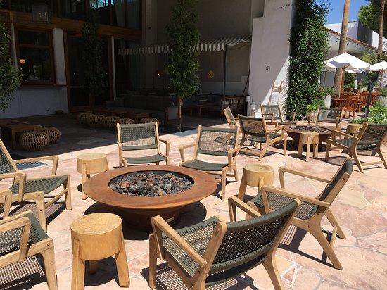 Nice Outdoor Patio Areas Picture Of The Scott Resort Spa Scottsdale Tripadvisor