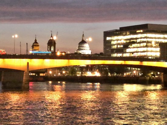 London Bridge, with St. Paul's Cathedral in background