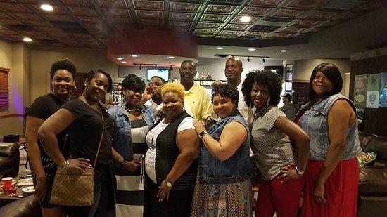 An Anniston High School Class reunion