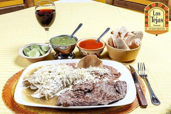 """Restaurante """"Los Tejas"""": Enchiladas c/ arrachera"""
